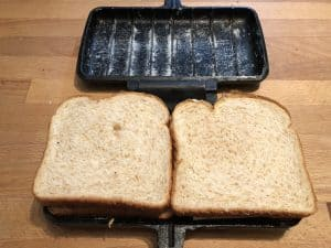 closed sandwiches ready to cook