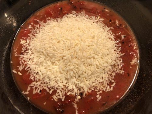 instant rice ready to soak