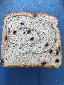 cinnamon bread sandwich